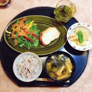 メカジキの西京焼き定食